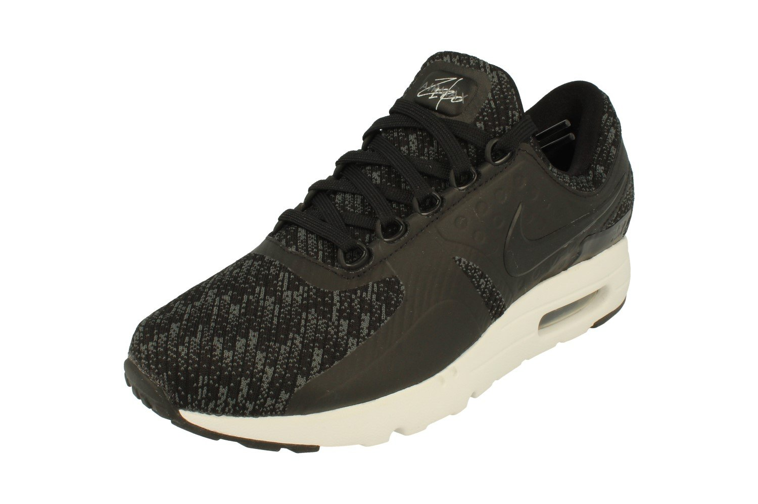 best sneakers 81189 68612 Galleon - Nike Air Max Zero SE Mens Running Trainers 918232 Sneakers Shoes  (UK 6 US 6.5 EU 39, Black Cool Grey Dark Grey 005)