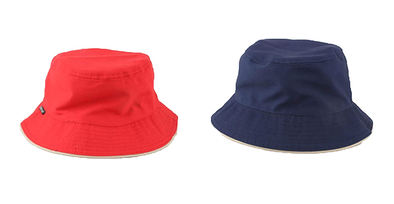 New Two Sides Wear Summer Hats for Men Women Bucket Hat Sun Protection Fishing Hat Hip Hop Cap