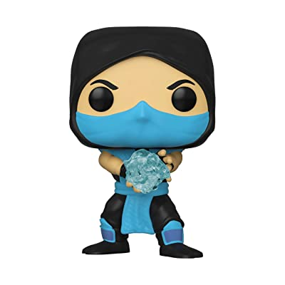 Funko Pop! Games: Mortal Kombat - Sub - Zero, Multicolor: Toys & Games
