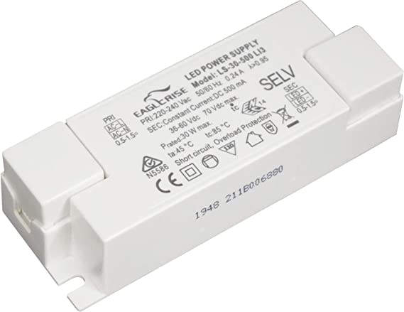 Premium LED Trafo Slim Netzteil Transformator Netzadapter Adapter Driver Flach