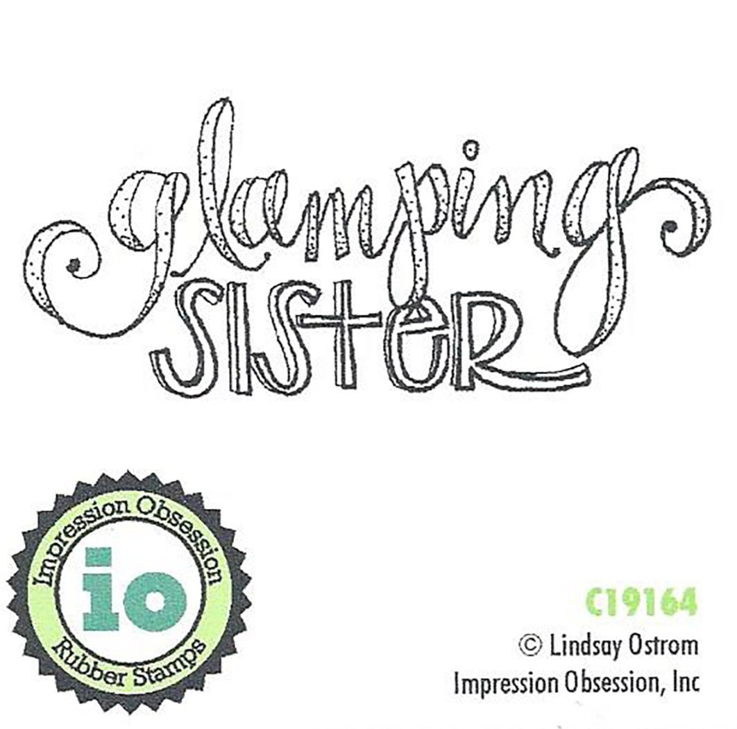 Impression Obsession You are Amazing Cling Rubber Stamp C17140