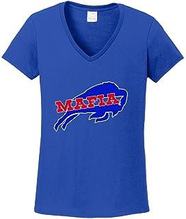 c102bda1f Amazon.com  The Silo BLUE Bills Mafia T-Shirt  Sports   Outdoors