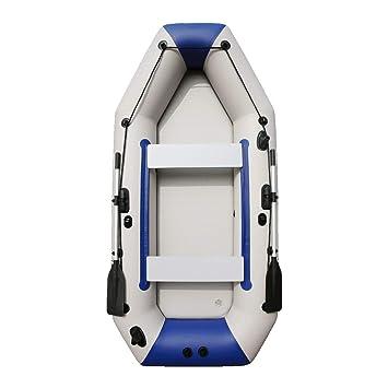 LIDAUTO Barco de Remo Bote Inflable de Pesca para la Deriva de ...