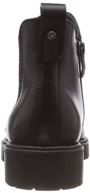 Be Natural Damen 25441-21 Chelsea Stiefel, Schwarz Schwarz Schwarz (schwarz 001) 7d5988