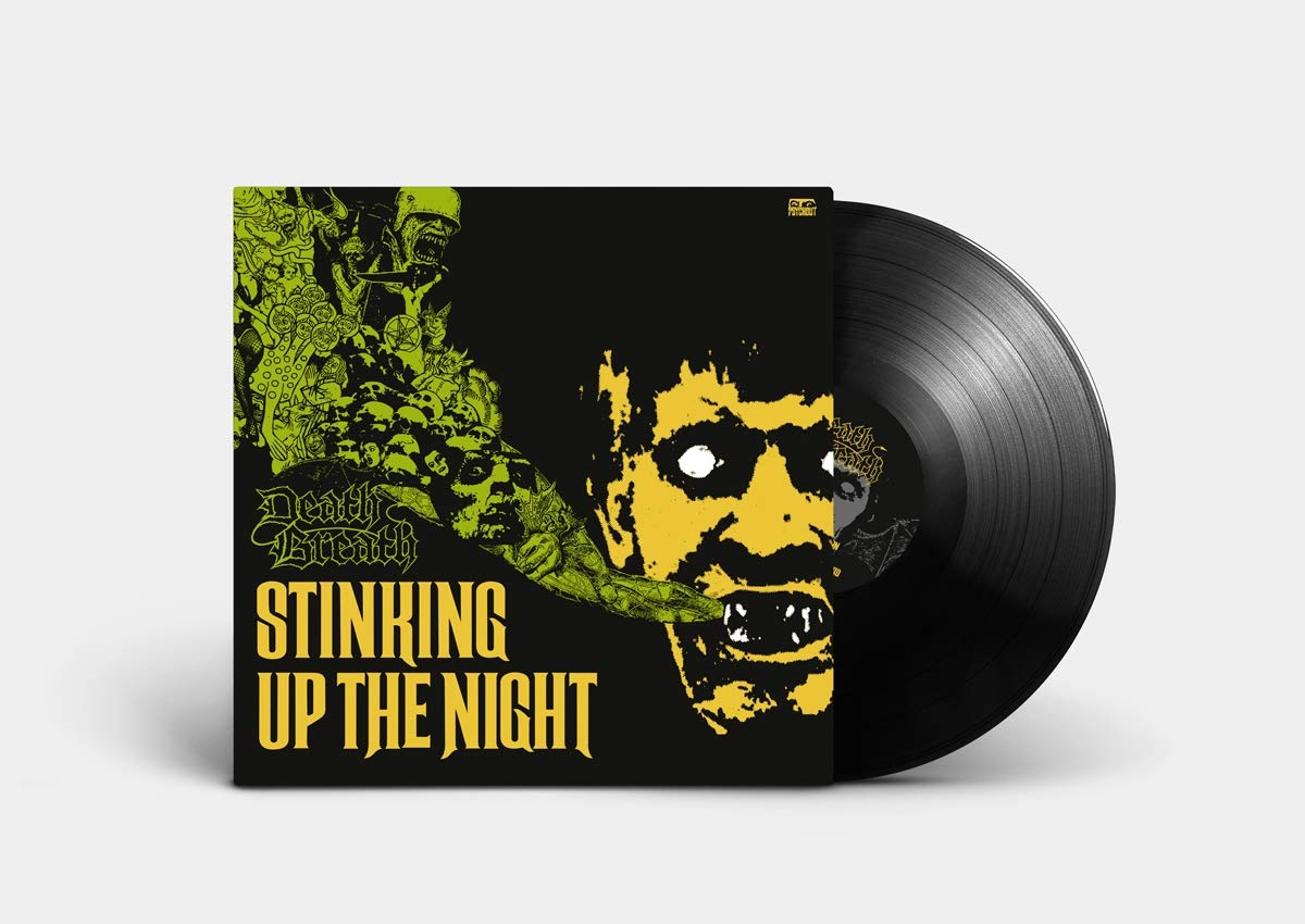 Vinilo : Death Breath - Stinking Up The Night (Black, 180 Gram Vinyl)