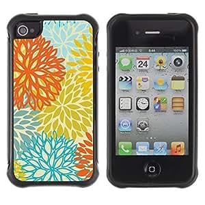 WAWU Funda Carcasa Bumper con Absorci??e Impactos y Anti-Ara??s Espalda Slim Rugged Armor -- golden blue text clean pretty pattern -- Apple Iphone 5C