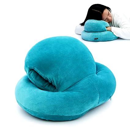hiltow oficina pluma de pan tela almohada siesta resto Almohadas para dormir, avión, Camping