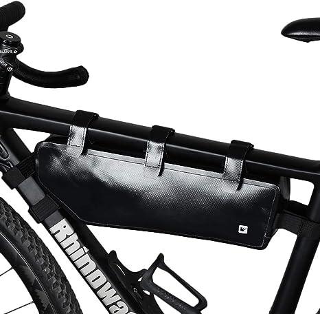 Bolsa de triángulo para bicicletas, bolsa delantera para bicicleta ...