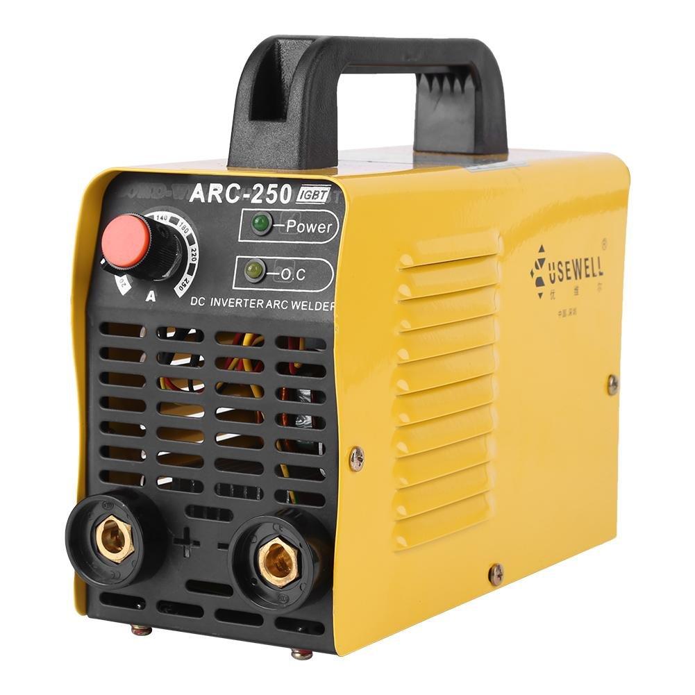 ARC-250 160A 2P Soldador Inversor Cortador Maquina de Soldar Amarillo Enchufe de UE: Amazon.es: Bricolaje y herramientas