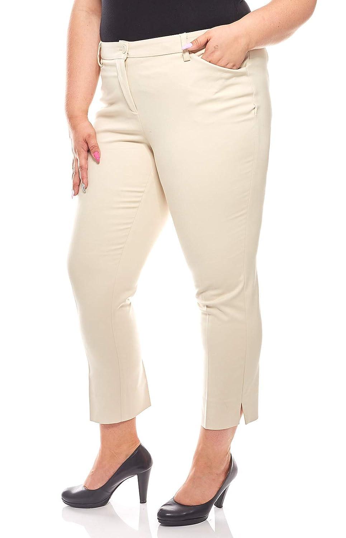 sheego Twill Jeans Basic Bootcut Boot Cut Damen Hose Pants Stretch Kurzgröße