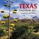 Texas Calendar 2017: 16 Month Calendar