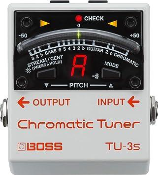 BOSS Guitar Chorus Effects Pedal (TU-3S)