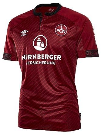 34f0fe530be Umbro Children FC Nurn Mountain Home SS Football Shirt, Children's, 79122U,  red,