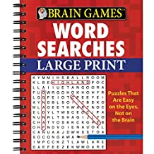 Brain Games Word Searches (Large Print)