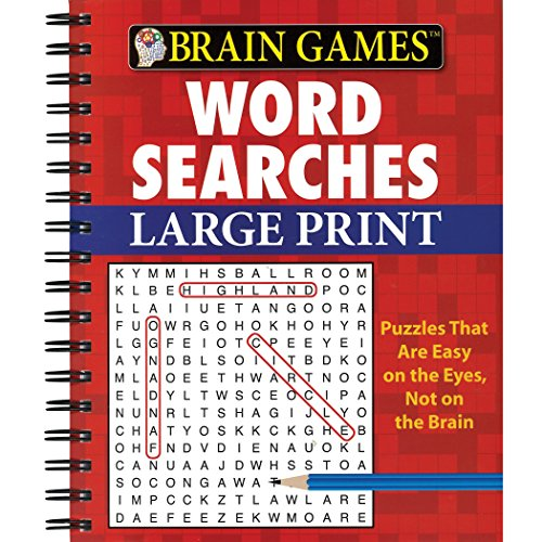 Top recommendation for word search spiral bound