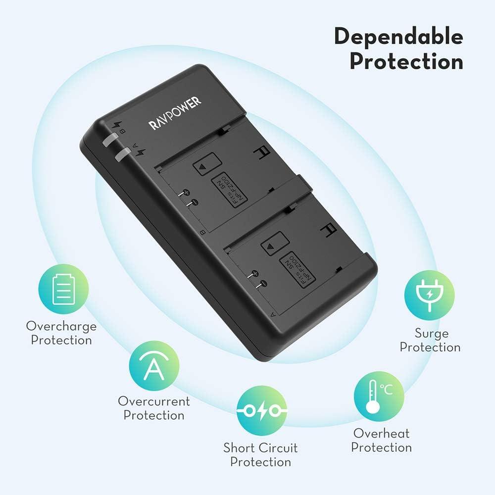 Amazon.com: NP-FZ100 Ravpower Dual USB Battery Charger ...