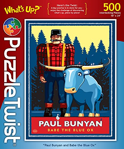 Paul Bunyan and Babe The Blue Ox –