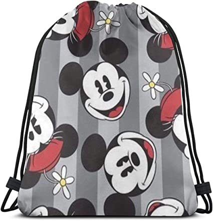 Cartoon Owl Drawstring Backpack Rucksack Shoulder Bags Training Gym Sack For Man And Women