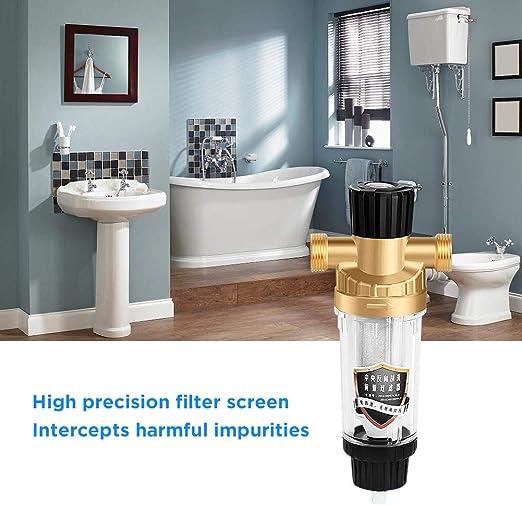 Nrkin 40-45 Micron Purificadores de Agua Sistema de filtración de ...