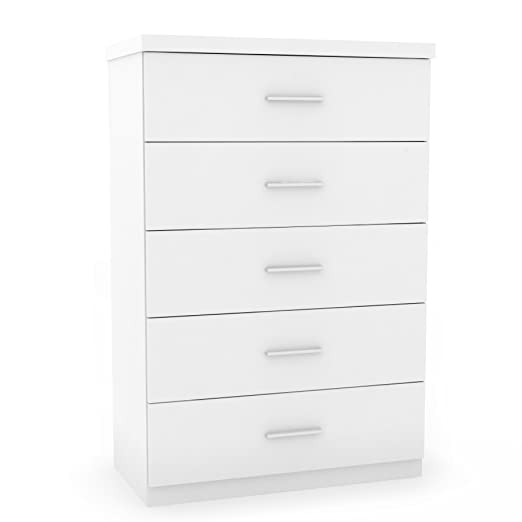 Amazon com  Sonax T 011 LWB Willow 5 Drawer Tall Dresser in Frost White   Kitchen   Dining. Amazon com  Sonax T 011 LWB Willow 5 Drawer Tall Dresser in Frost