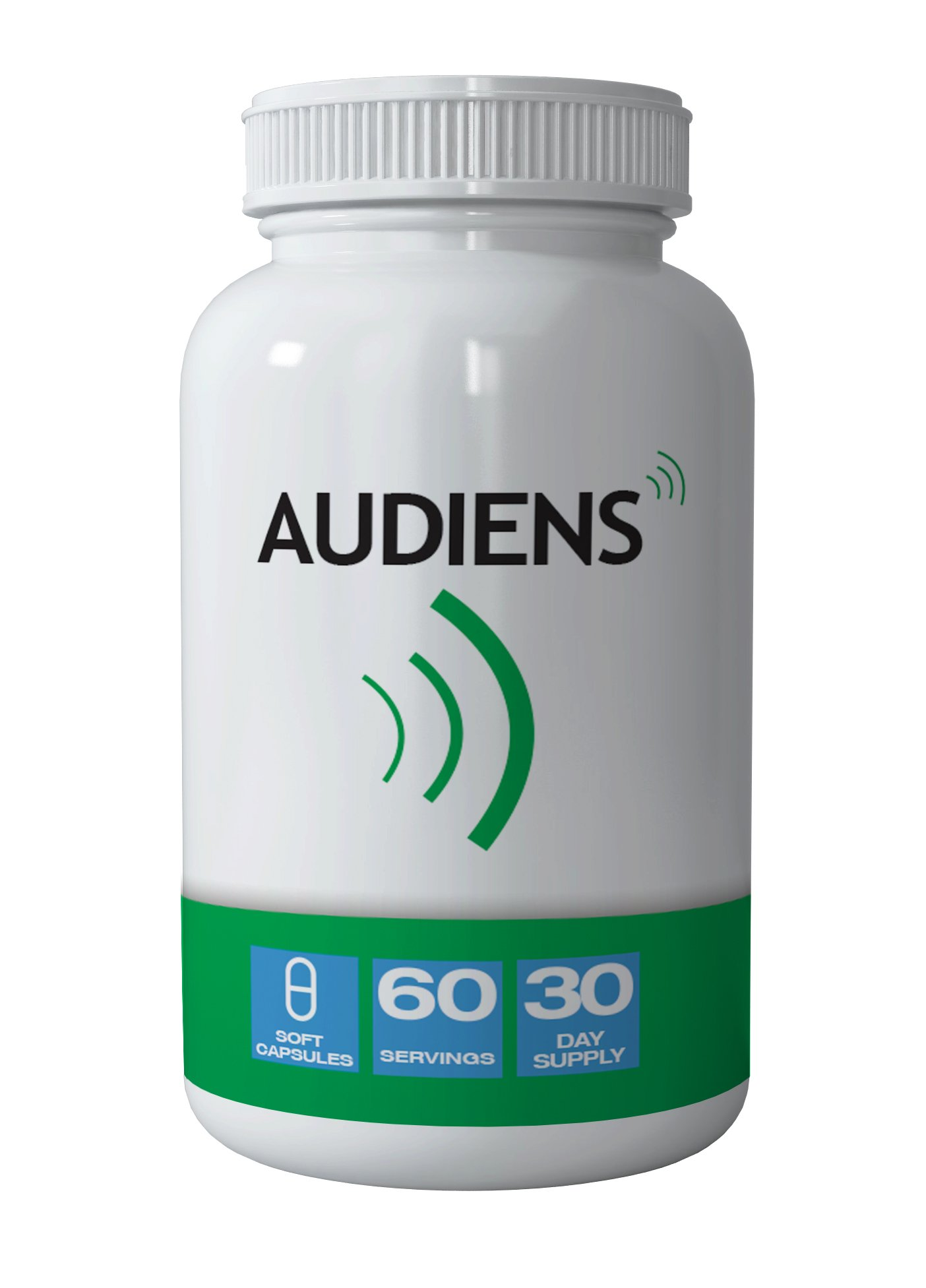 The Audiens Tinnitus Pill - Natural Remedy for Tinnitus Symptoms