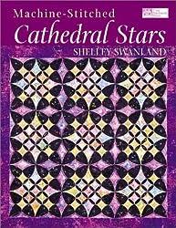 Machine-Stitched Cathedral Stars