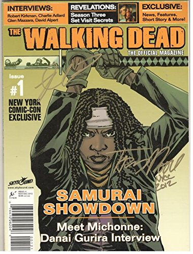 The Walking Dead Official Magazine # 1,New York Comic Con Exclusive,Signed pdf epub