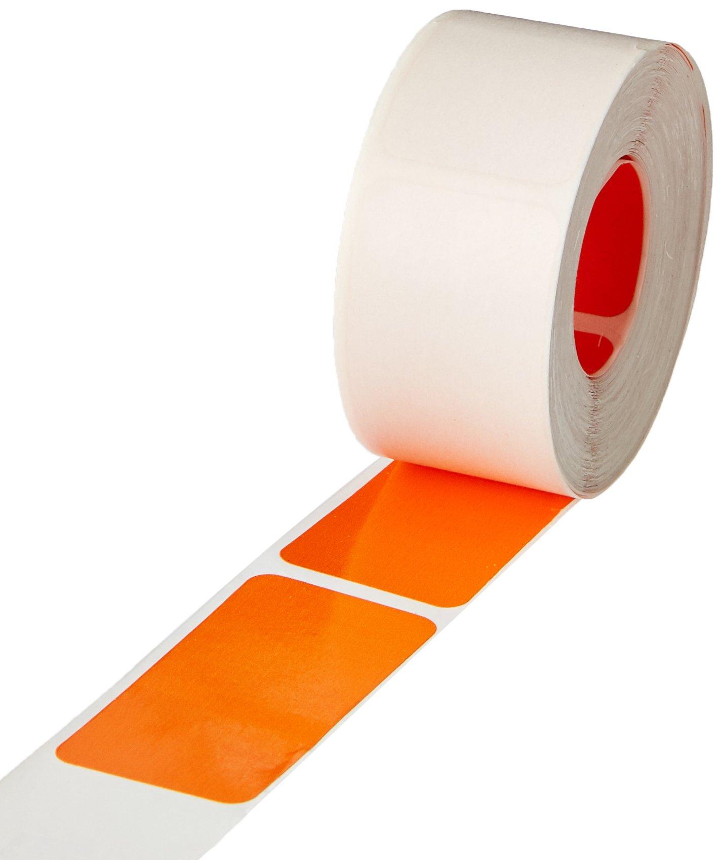 SMEAD COMPATIBLE CCOR Cc Color Code Label, Permanent, Solid, 1'' x 2'', Orange Paper (Pack of 250)