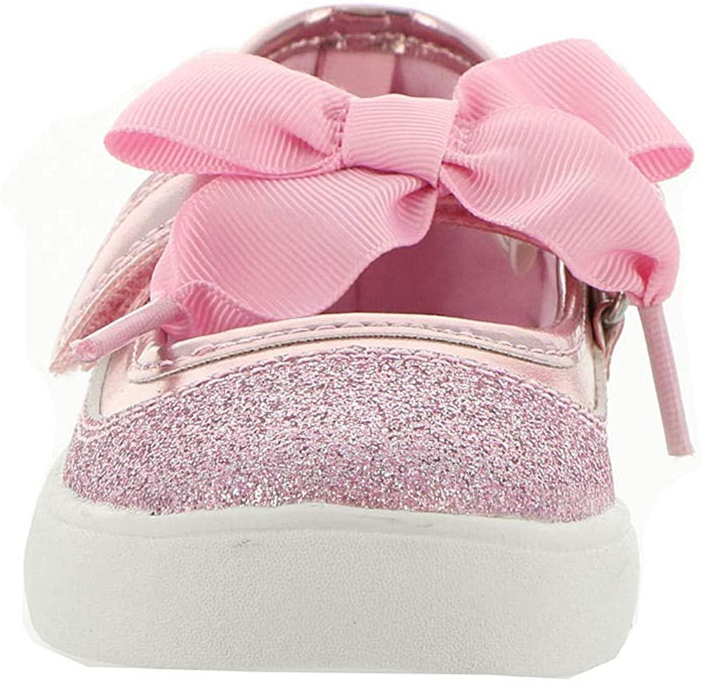 Carters Kids Girls Alberta Glittery Mary Jane Flat