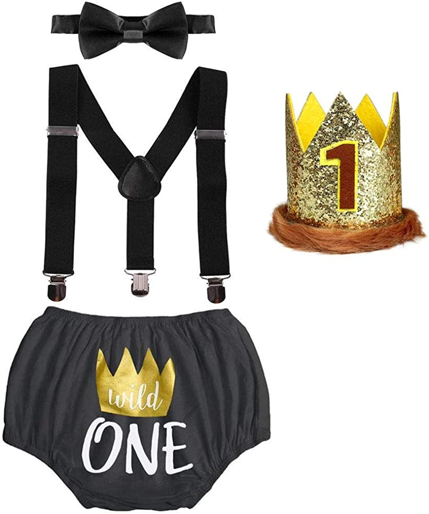 Suspender Shirt 1st Birthday boy Cake Smash Outfit Button Leg Warmers Newsboy Hat Winnie the Pooh Inpired Birthday Bow tie Bodysuit