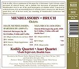 Mendelssohn: Octet in E Flat Major, Op. 20 / Bruch: Octet in B Flat Major