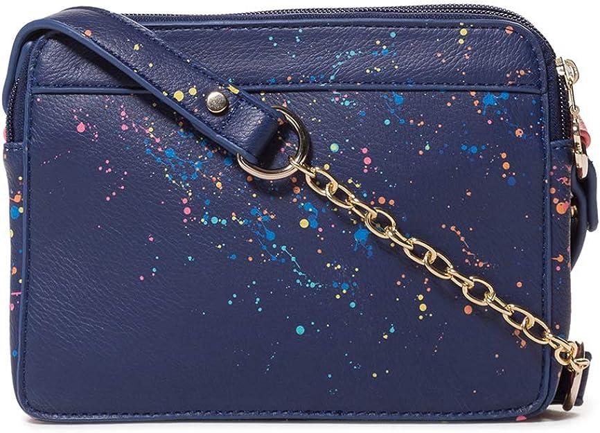 Bolsos bandolera Mujer Marino Azul Desigual 8x14.5x19.5 cm B x H T Bag Siracusa Edson Women