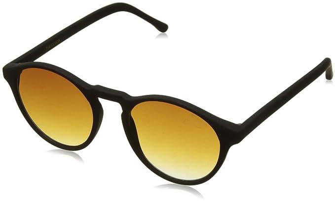 KOMONO Unisex-Erwachsene Sonnenbrille Devon, Schwarz (Black Rubber 000), 51