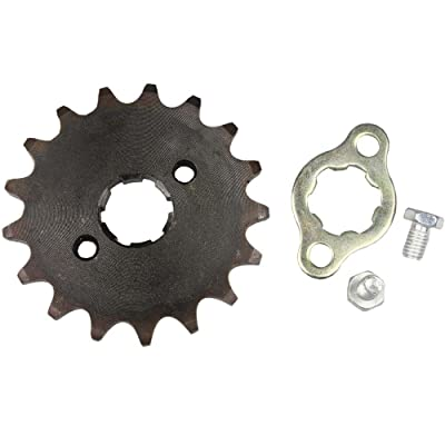 Wingsmoto Sprocket Front 420-17T 20mm Motorcycle ATV Dirtbike: Automotive