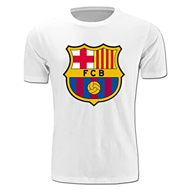 ffa7fd217 K-YICO Men s La Liga Futbol Club Barcelona Logo T-Shirts XX-Large ...