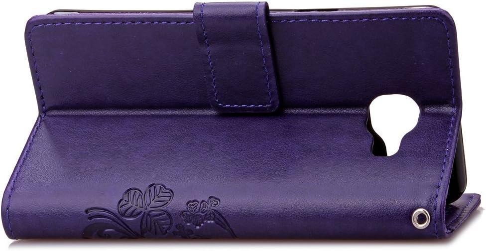 Tosim Galaxy A3 2016 H/ülle Klappbar Leder Brieftasche Handyh/ülle Klapph/ülle mit Kartenhalter Stossfest Lederh/ülle f/ür Samsung Galaxy A3 2016//A310F TOSDA040100 Violett