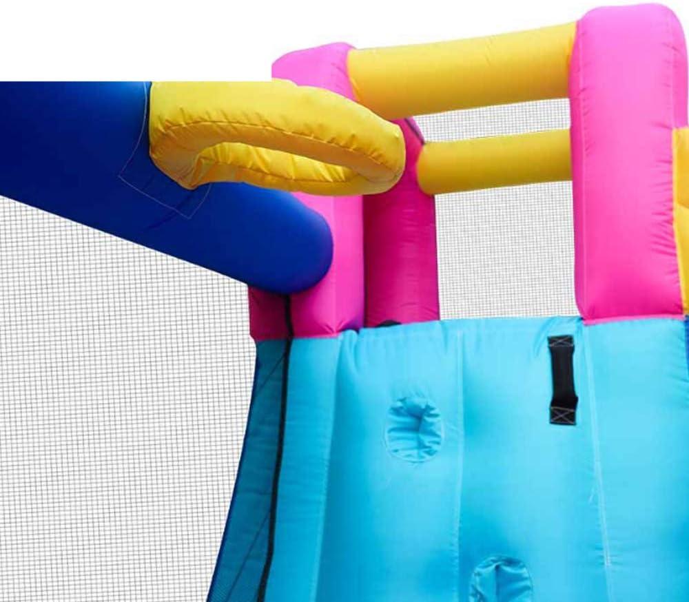 Niguleser Castillos hinchables, Castillo inflable para niños con tobogán de Agua, 450 W, soplador, agua Piscina con tobogán centro de actividades, Las camas de jardín de infantes para niños: Amazon.es: Deportes y