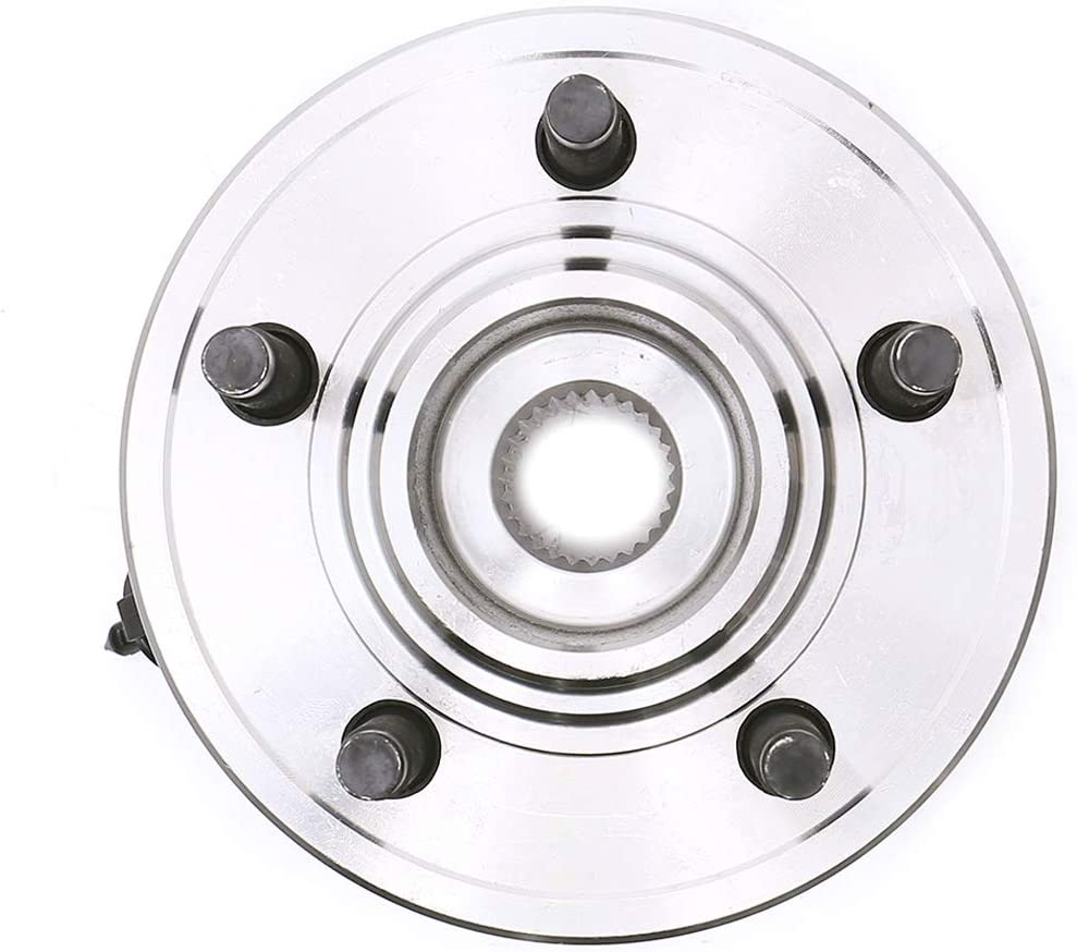 HICKS 515050 Front Wheel Hub Bearing Assembly for 2002-2005 Ford Explorer,2003-2005 Lincoln Aviator,2002-2005 Mercury Mountaineer,5 Lugs W//ABS,set of 2