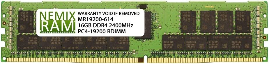 1x16GB NEMIX RAM N8102-688F for NEC Express5800//T120g 16GB RDIMM Memory