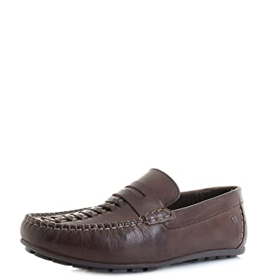 Palmer Leather Loafers in Tan - Tan Base London Cw9iS