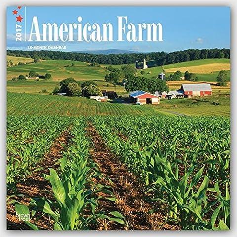 2017 Monthly Wall Calendar - American Farm