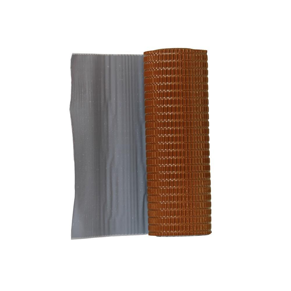 Onduline P691 Aluminum Flashing Band with Butyl Adhesive, Terracotta