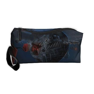 a74c655f3d32 Cosmetic Bags Brush Pouch Makeup Bag Mushroom Cartoon World Zipper ...