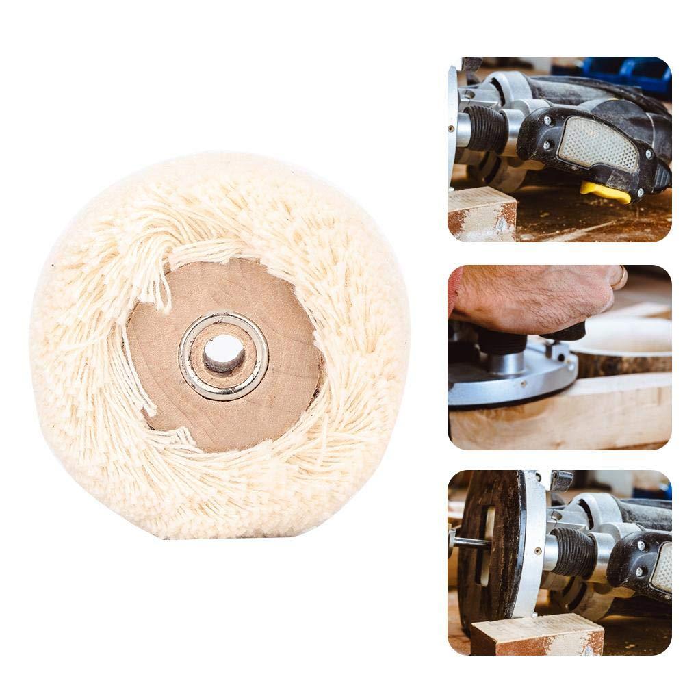 L Spazzola della Ruota della Macchina per la frantumazione della Ruota di lucidatura del Cotone del Cotone Strumento dei Gioielli dello Strumento di consumo di lucidatura dei Gioielli