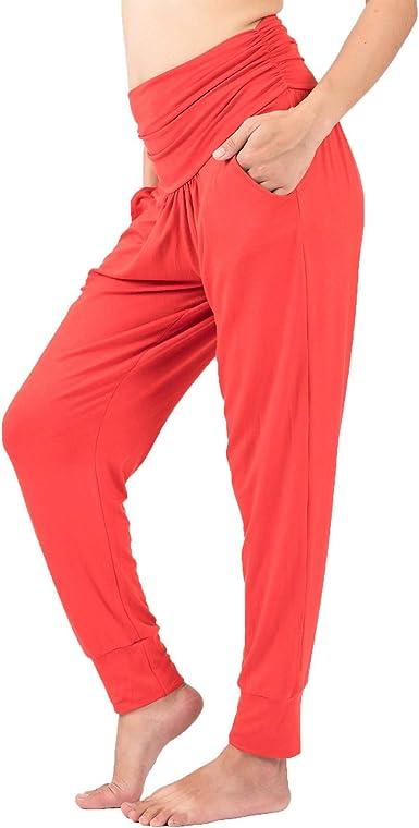 pantalones de pijama para entrenamiento holgados LOFBAZ Pantalones de yoga para mujer