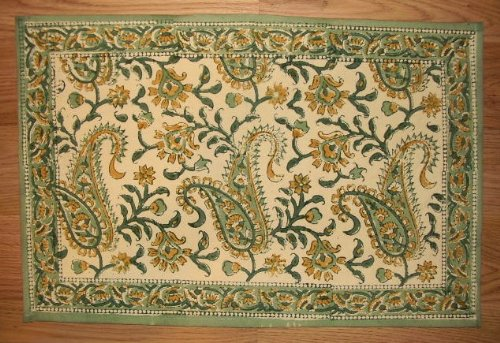 - Homestead Rajasthan Paisley Placemat-Table Linen-Lovely