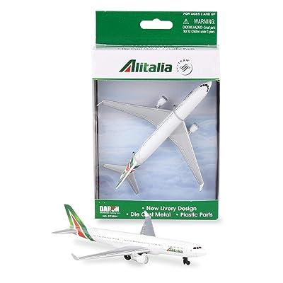 Daron Alitalia Single Plane: Toys & Games