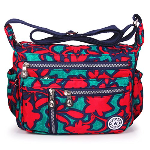 Bags ABLE Shoulder Messenger Crossbody 4 flower Women Water Splash Anti FqwFAO