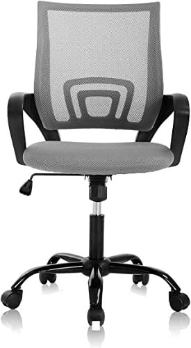 Office Chair Desk Chair Computer Chair Ergonomic Mid Back Mesh Chair