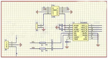 7PCS PAM8603M SSOP-24 3W Filterless Class-D Audio Amplifier DC Volume Control